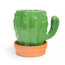 Balvi Кружка с блюдцем Cactus 450 мл