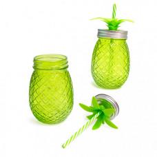 Balvi Набор стаканов с крышкой и трубочкой Tropico 500 мл 2 шт.