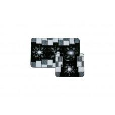 Banyolin Classic Collor Коврик для ванной комнаты Снежинки 55х90/55х45 см 2 шт.