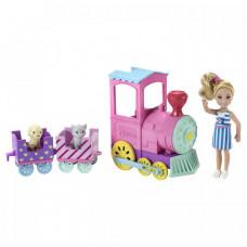 Barbie Игровой набор Паровозик Челси