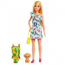 Barbie Игровой набор Стейси с питомцем и аксессуарами