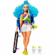 Barbie Кукла Экстра с голубыми волосами