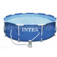Бассейн Intex каркасный 305х76 см с фильтром