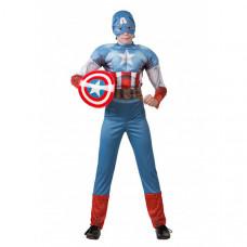 Батик Карнавальный костюм Капитан Америка Мстители Марвел 5091