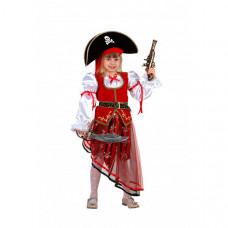 Батик Карнавальный костюм Пиратка Карнавальная ночь 8022