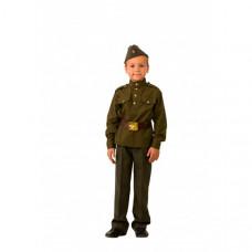 Батик Карнавальный костюм Солдат Профессии 8008