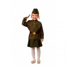 Батик Карнавальный костюм Солдатка Профессии 8009
