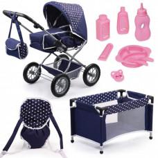 Bayer Большой набор Combi Grande (коляска, кроватка, переноска, посуда)