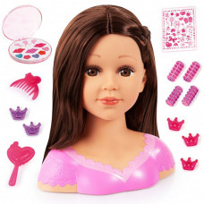Bayer Кукла Модель для причесок с косметикой 27 см (брюнетка)