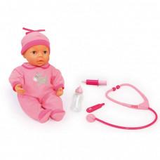 Bayer Кукла-пупс Малыш у доктора 38 см