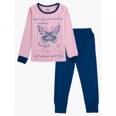 Baykar Пижама для девочки Бабочка