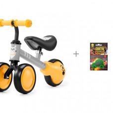 Беговел Kinderkraft Cutie с термошевроном Cova световозвращающим