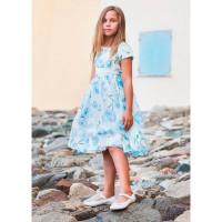 Bella Monella Платье из синтетических волокон на хлопковом подкладе 204-0004
