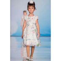 Bella Monella Платье из синтетических волокон на хлопковом подкладе 204-0007