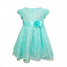 Bella Monella Платье из синтетических волокон на хлопковом подкладе 204-0011