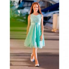 Bella Monella Платье из синтетических волокон на хлопковом подкладе 204-0012