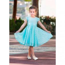 Bella Monella Платье из синтетических волокон на хлопковом подкладе 204-0013