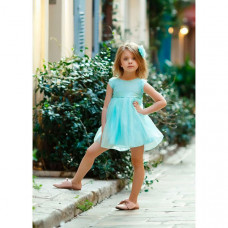 Bella Monella Платье из синтетических волокон на хлопковом подкладе 204-0018