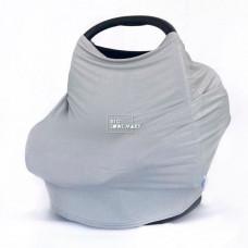 BigLoveMary Накидка-снуд для кормления серый