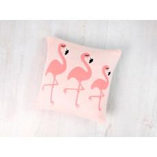 Bizzi Growin Подушка вязаная Flamingos