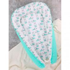 Body Pillow Гнездышко-кокон для новорожденных Зайчики