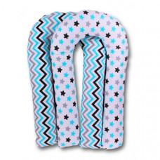 Body Pillow Подушка для беременных Зигзаги/Пряники U