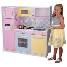 """Большая детская кухня из дерева """"Пастель"""" (Large Pastel Kitchen)"""