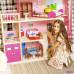 """Большой дом для Барби """"Мечта"""" (28 предметов мебели, лифт, лестница, гараж, балкон, качели)"""