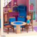 """Большой дом для куклы """"Муза"""" с 16 предметами мебели, качелями и лифтом"""