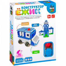 Bondibon Ежик Машина и станция (98 деталей)