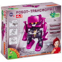 Bondibon Французские опыты Науки с Буки Робот трансформер 4 в 1