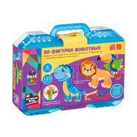 Bondibon Игровой набор Baby You 3D-фигурки животных с отверткой в чемоданчике