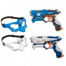 Bondibon Игровой набор на батарейках Лазер-Жук с 2 ик-бластерами и 2 масками-мишенями