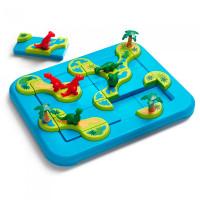 Bondibon Логическая игра Динозавры Таинственные острова