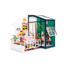 Bondibon Набор для творчества миниатюра интерьерная 3D Балкон румбокс