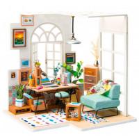 Bondibon Набор для творчества миниатюра интерьерная 3D Домашний офис румбокс
