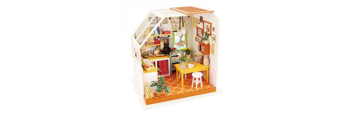 Bondibon миниатюра интерьерная 3D Кухня румбокс