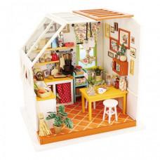 Bondibon Набор для творчества миниатюра интерьерная 3D Кухня румбокс