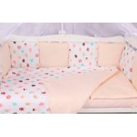 Бортик в кроватку AmaroBaby Эскимо 12 подушек