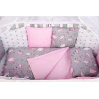 Бортик в кроватку AmaroBaby Мечта 12 подушек