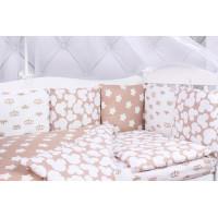 Бортик в кроватку AmaroBaby Soft 12 подушек