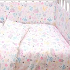Бортик в кроватку Baby Nice (ОТК) Лесная поляна