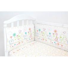 Бортик в кроватку Baby Nice (ОТК) Саванна