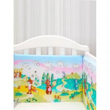 Бортик в кроватку Baby Nice (ОТК) Споки ноки Колобок