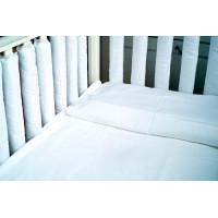 Бортик в кроватку Cloud Factory 12 фенс-бамперов Plain