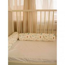 Бортик в кроватку Cocodikama Подушка валик Перья 2 шт.
