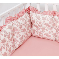 Бортик в кроватку Colibri&Lilly Royal Rose 120х60 см