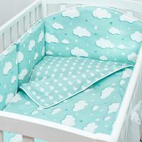 Бортик в кроватку Fluffymoon Fresh Breeze 120х60 см