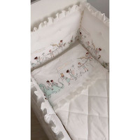 Бортик в кроватку Krisfi Парад для прямоугольной и овальной кроватки