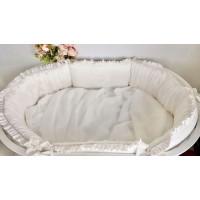 Бортик в кроватку Krisfi Утонченность в прямоугольную и овальную кроватку